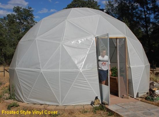 20 Ft 3v Geodesic Dome Greenhouse Kits