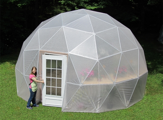 20 Ft 3v Geodesic Dome Greenhouse Kits